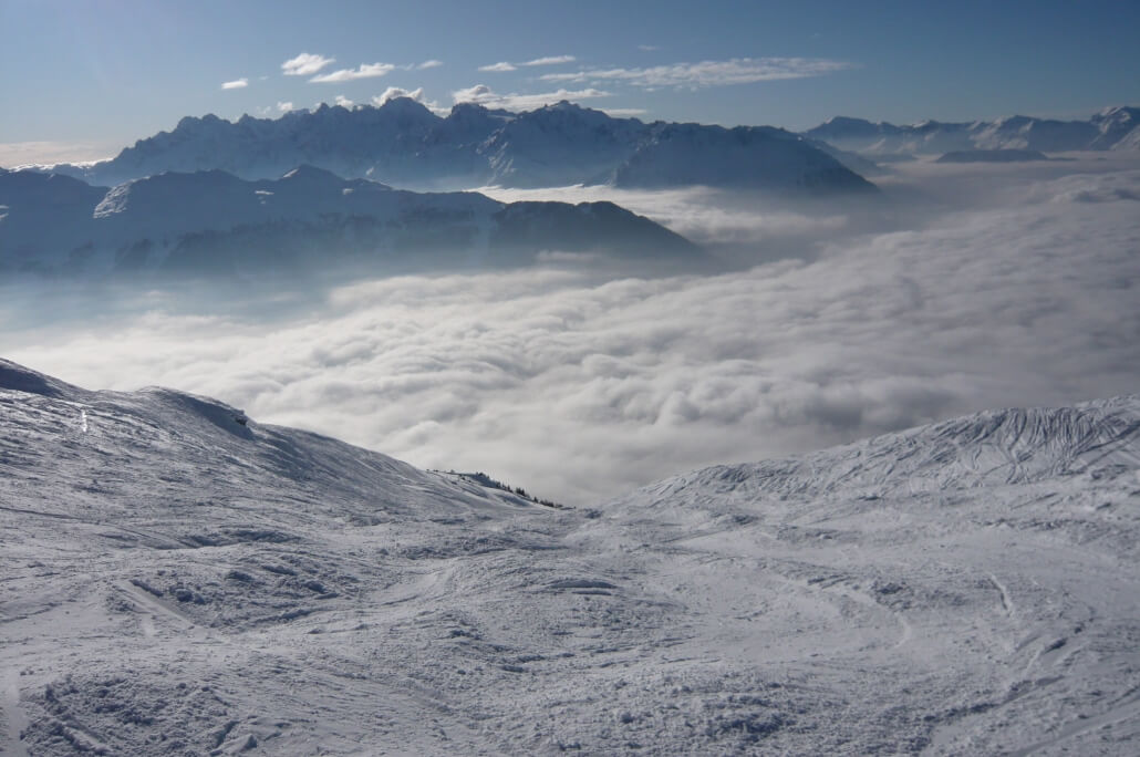 Verbier Snow Prediction 2010 - 2011