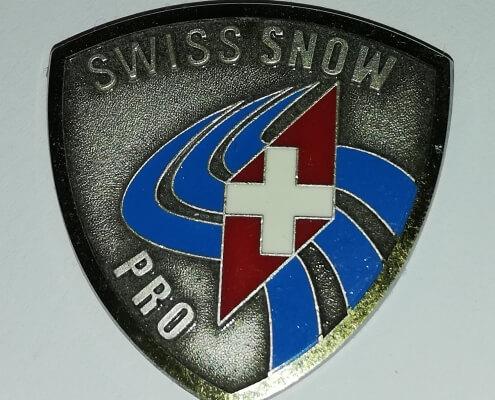 Highest Level Swiss Ski Instructor Badge