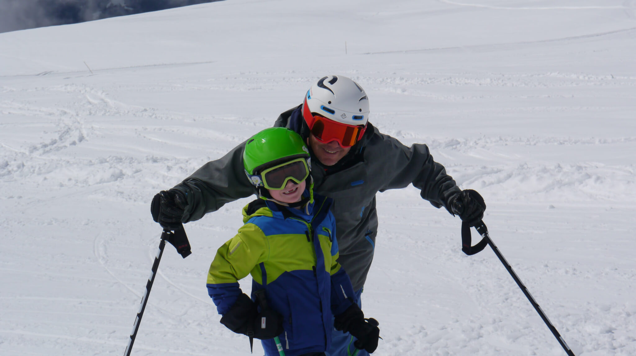 Beginner ski lessons in Verbier Switzerland