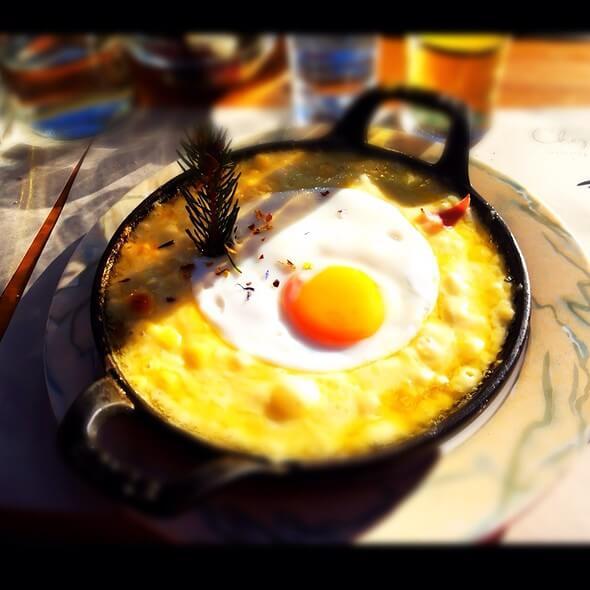 La croûte au fromage Chez Dany