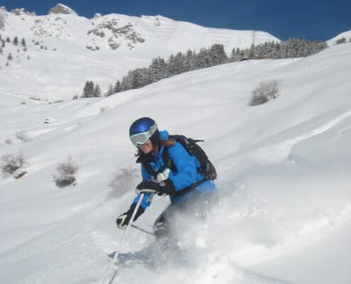 Another great day skiing in Verbier