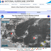 Gordon and Florence Tropical Storms