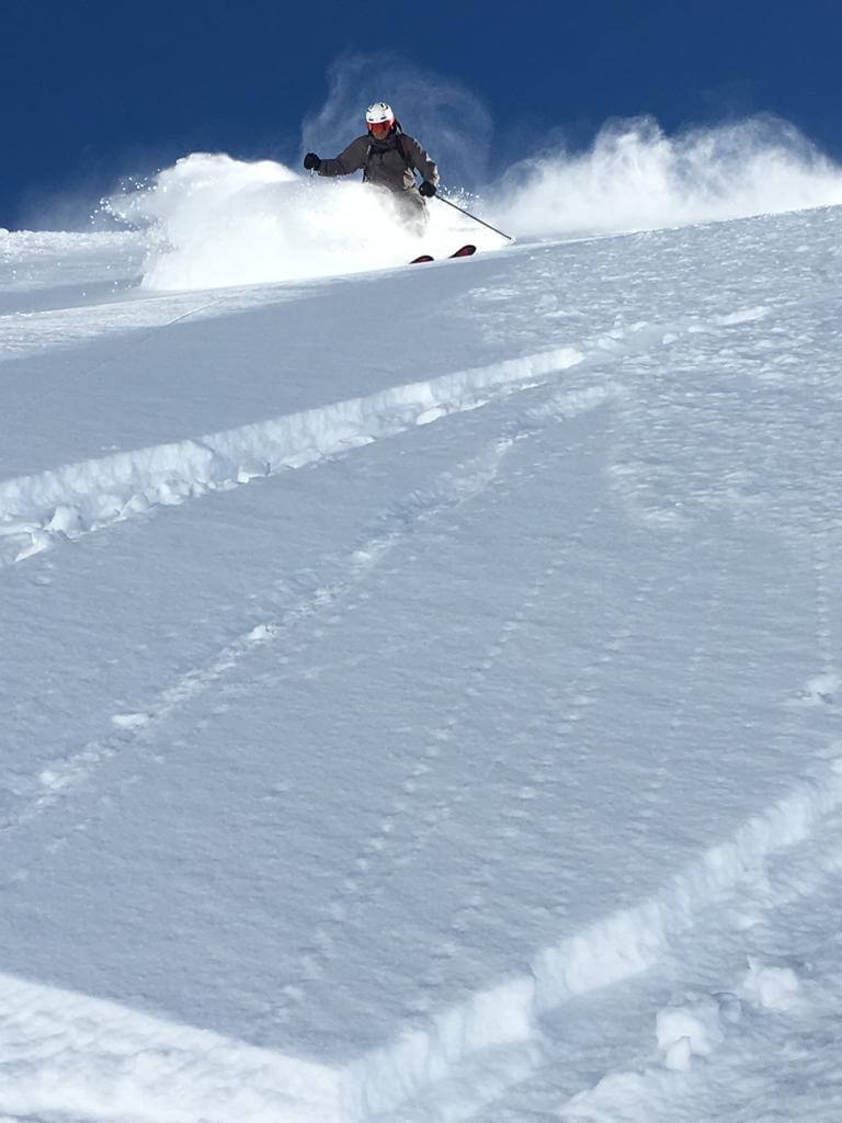 Another epic powder day in Verbier