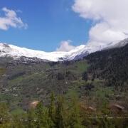Summer skiing in Verbier