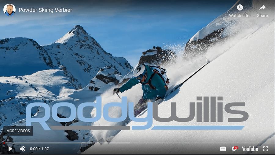 Powder Skiing in Verbier